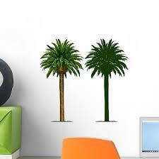 California Palm Trees Wall Decal Wallmonkeys Com