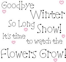 goodbye winter verses for cards winter quotes time quotes