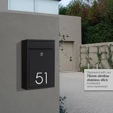Milton Brick In Wall Mounted Letterbox Milkcan Outdoor Products