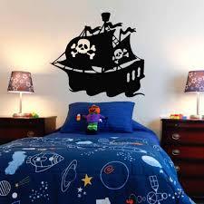 Pirate Ship Wall Decal Sticker Bedroom Pirate Ship Decor Decals Gold Island Cartoon Vinyl Mural Kids Boys Room G459 Wall Stickers Aliexpress