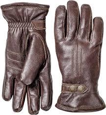 hestra men s winter leather gloves
