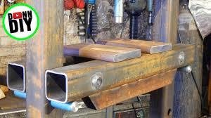 diy 30 ton hydraulic press you