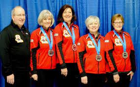 Alberta 2018 Provincial Masters Winners – Stettler Curling Club