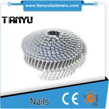 conical snless steel coil nails