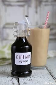 coffee syrup recipe make homemade