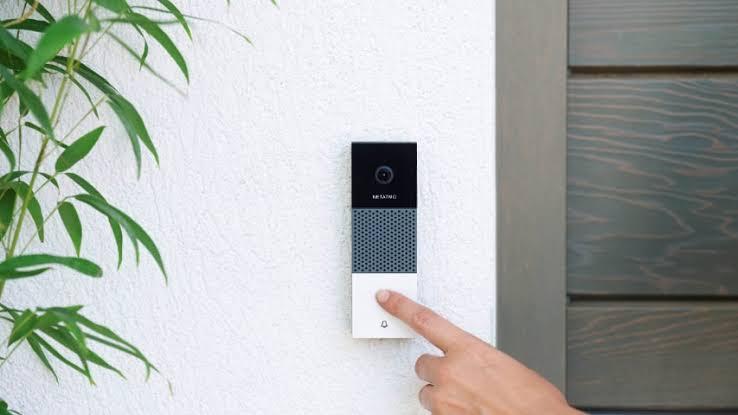 "Hasil gambar untuk netatmo smart video doorbell"""