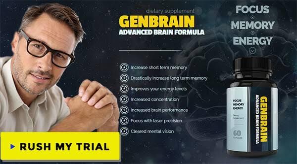 "Image result for GenBrain - Brain Supplement"""