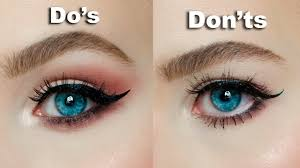 makeup for hooded eyes and gles