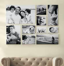 romantic family photo wall decor
