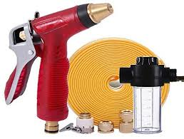 garden hose with brass fittings quick