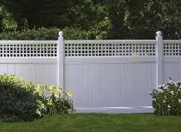 Adding Lattice To Fence Fence Portal Fence Planning Backyard Fences Diy Fence