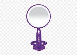conair plastic led double sided mirror