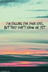 im falling for your eyes love quotes quote colorful eyes sky