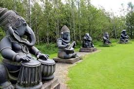 park in ireland home to ganesh statues