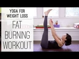 yoga for weight loss fat burning