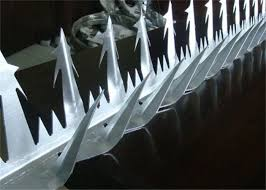 Tops Of Fence Cobra Wall Security Spikes Topping Razor Spike 11cm Design