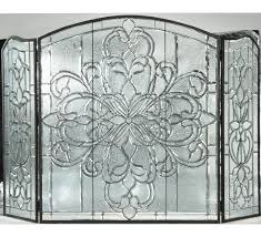 w x 46 h blossom bevel fireplace screen