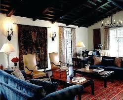 spanish style decorating living room