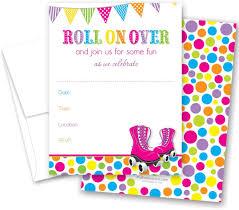 Amazon Com 24 Hot Pink Roller Skates Bright Dots Fill En