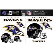 Skinit Baltimore Ravens Car Decal Kit Walmart Com Walmart Com