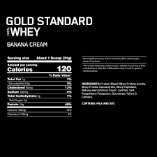 gold standard 100 whey optimum nutrition