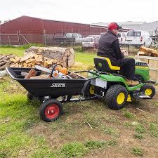 selecta 235l poly tilt garden cart