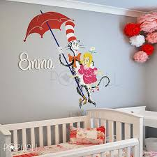 New Dr Seuss Yertle The Turtle 26in Tall Diecut Wall Decal Sticker White Blue