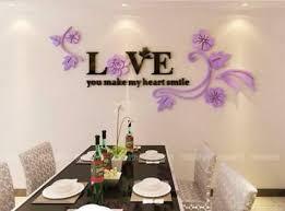 3d Leaf Love Stylish Bedroom Removable Wall Sticker Art Vinyl Decals Decoration For Sale Online
