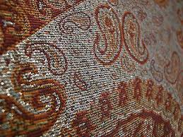 small persian rug style paisley art