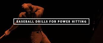 baseball hitting drills for power the