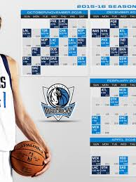 Dallas Mavericks 2015 2016 Schedule ...