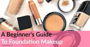 diffe types of foundation makeup