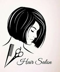 Girl Hairdressing Scissors Vinyl Wall Sticker Hair Beauty Salon Window Decal Ebay