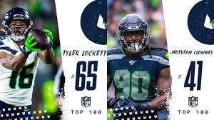 Tyler Lockett & Jadeveon Clowney Unveiled On NFL Network's Top 100 ...
