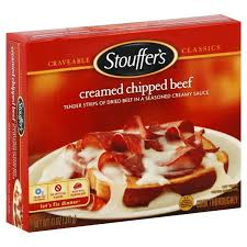 stouffer s creamed chipped beef