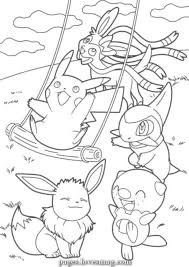 Unique And Creative Drawings Of Mr Mime Pikachu Pokemon Coloring