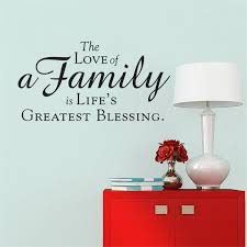 sweet home love family quotes wall stickers home decor art english