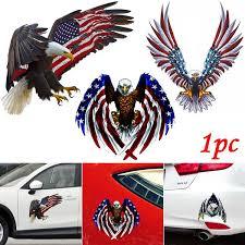 American Eagles Car Decal Sticker Vinyl Wall Usa Flag Symbol United States Pvc Car Window Sticker Wish