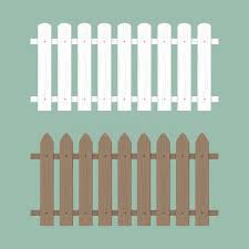 wooden fence ilration farm wood