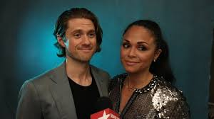 Karen Olivo and Aaron Tveit Are Ready for the High Romance of ...