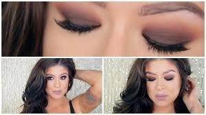 fall makeup tutorial brown smokey eyes