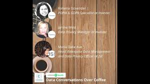 Episode 16: Data Conversations Over Coffee with Maria, Rohena and Janine -  YouTube
