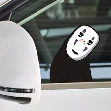 10pcs Lot Car Styling Spirited Away No Face Man Car Stickers Reflective Sticker Wry Neck Save The Planet Cartoon Stickers S333 Sticker Bottle Stickers Packagesticker Paper For Printer Aliexpress