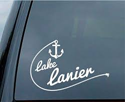 Amazon Com Celycasy Lake Lanier Sticker For Car Window Or Laptop Placement Baby