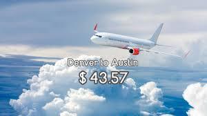 one way flights air travel deals