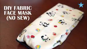 How to make your own fabric face mask ...
