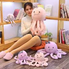 Kawaii Plush Sea Fish Toys Cats Toy Room Decor Animal Octopus Lovely Kids Dolls Creative Funny Gift For Children Kids Aliexpress