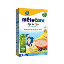 Bột ăn dặm dinh dưỡng Metacare Yến Mạch Gạo Lức 4 vị Ngọt phát ...