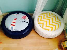 Diy Kids Tyre Seating Tire Seats Reuse Old Tires Diy Outdoor Seating