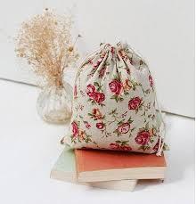 2019 rose linen gift bags 8x10cm 9x12cm